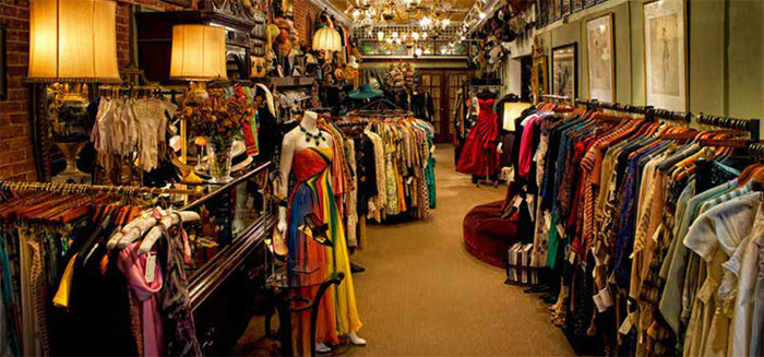 Store vintage clothing online