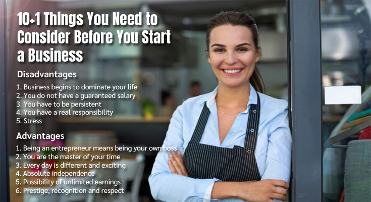 10+1 Things You Need to Consider Before You Start a Business