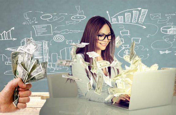 Generating Dollars Via an Online Business